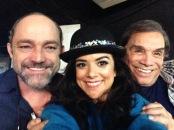 Eucir de Souza, Kathia Calil e Dedé Santana
