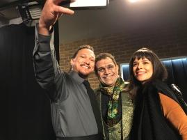 Fabio Lago, Evandro Santo e Kathia Calil